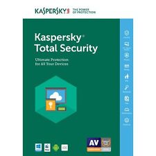 Kaspersky Total Security 2018 1PC/Dispositivo 1 ano Full version Licencia Key