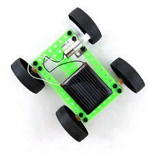 Mini Solar Powered Toy DIY Car Kit Children Educational Gadget Hobby Funny ZV