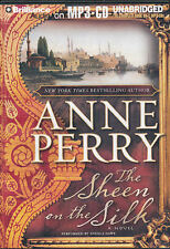 Audio book - The Sheen on the Silk by Anne Perry    -    MP3-CD