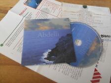 CD Ethno Abdelli-Destiny (15) CHANSON Music & Words Blue Kapibara PRESSKIT
