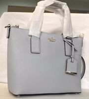 Authentic KATE SPADE Cameron Street Lucie Crossbody Tote Leather Bag $248 Blue