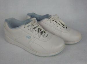 Dexter Women's Slide Rite Raquel III White Bowling Shoes Size 8 M Sneakers
