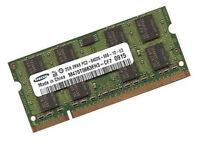 2GB Samsung Notebook / Netbook Speicher DDR2 RAM 800 Mhz SO DIMM PC2-6400S 200p