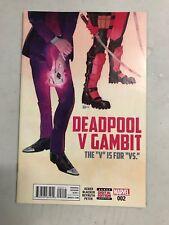 DEADPOOL VS GAMBIT #2 FIRST PRINT MARVEL COMICS (2016)