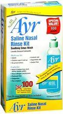Ayr Saline Nasal Rinse Kit 1 Each