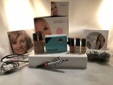 Luminess Air Airbrush Makeup Legend Aqua System&Pink Tip NoDrip Stylus5pc Medium