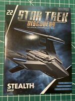 Eaglemoss Star Trek Discovery Stealth Ship Replica Brand New and In Stock