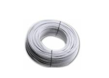 Cavo fune cavetto stendibiancheria 20mt biancone bucato 5mm pvc filo acciaio