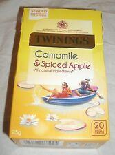 Twinings Camomile & Spiced Apple - 20 Single Tea Bags