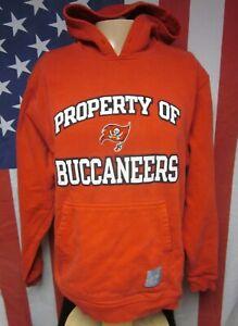 TAMPA BAY BUCCANEERS pirate flag lrg hooded sweatshirt football Reebok hoodie