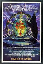 THE SECRET OF NIMH * CineMasterpieces 1SH ORIGINAL ADVANCE MOVIE POSTER 1982