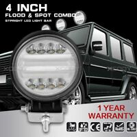 4 Inch 72W LED Work Light Bar Flood Spot Combo Driving Lamp For Truck Offroad