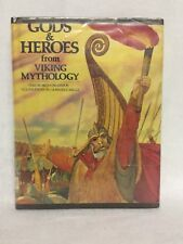 Gods and Heroes from Viking Mythology Ex Library Hardcover Book