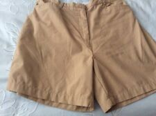 "LADIES SHORTS REGATTA GREAT OUTDOORS. SIZE WAIST. 32"". FAWN POLYESTER AND COTTON"