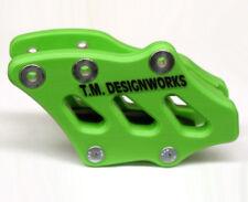 T.M. Design Factory Ed. 2 Chain Guide GREEN  Kawasaki KX250F 09-16 _RCG-KX3-GR