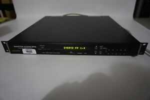 Evertz 5600MSC masterclock/SPG with option for 7751 TG2 firmware upgrade