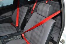 Cinturones, Rojos, Azules BMW, Audi, VW, Honda, Porsche, Mercedes    seatbelt