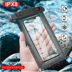 Waterproof Underwater Case Dry Bags Pouch for All Smartphones iPhone XR XS 8 7 6