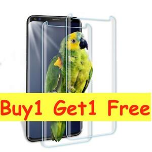 For Samsung Galaxy S9 5D Full Curved Tempered Glass LCD Screen Protector Clear