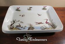 MMA Louis Lourioux France Le Faune Sea Birds Large Rectangular Baking Dish