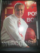 1995 UNIVERSITY OF WISCONSIN BADGERS VS UW MILWAUKEE BASKETBALL PROGRAM BENNETT