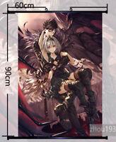 Anime Poster Granblue Fantasy gita Home Decor Wall Scroll Roll Painting 60*90cm