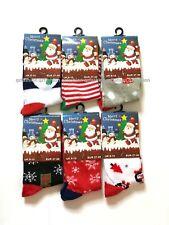 6 pairs Ladies kids girls/boys Unisex Christmas socks novelty, Santa Xmas gift