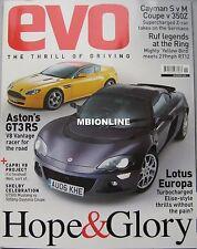 EVO 11/2006 featuring Porsche, BMW, Nissan, RUF, Lamborghin, Aston Martin, Lotus