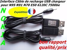 Interface câble de recharge original USB pour Nokia N95 N91 N70 E50 6120C 7500be