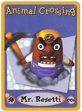 Mr. Resetti 006 Animal Crossing E-Reader Card Nintendo GBA