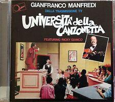 GIANFRANCO MANFREDI / UNIVERSITA' DELLA CANZONETTA - MINI CD (Italia 2004)