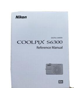 Nikon Coolpix S6300 Reference Manual