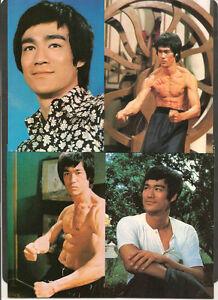 Bruce Lee Set Of 15 Colour Postcards Superb!
