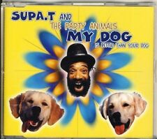 Supa. T and the Party Animals-My Dog is better than your dog 5 TRK CD Maxi
