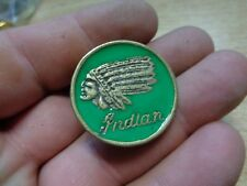 Indian Motorcycle Badge Classic Scout Chief Pin Vintage Factory Vest Hat Concho