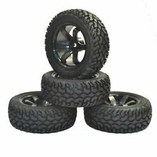 1/10 1/16 Rally Car Grain Rubber Tires Wheels For Traxxas Tamiya Hsp Hpi Kyosho