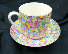 huge lord nelson chintz mush set HUGE cup & saucer / english / british pottery