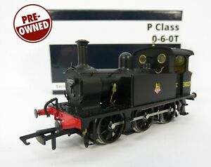 OO Gauge Hattons H4-P-007 DCC Fitted SECR P Class 0-6-0T 31027 BR Black Loco