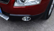 2PCS Chrome front Fog lights Lamp cover trim For Nissan QASHQAI 2009- 2015 HOT
