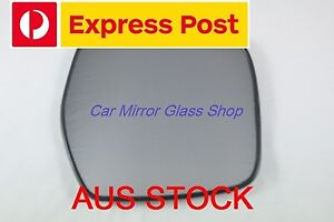 RIGHT DRIVER SIDE MIRROR GLASS FOR TOYOTA HIACE  1995 - 2003 (Electric Mirror )