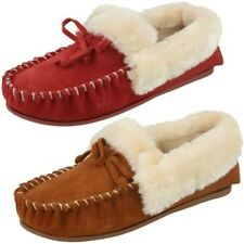 Ladies Four Seasons Kay Moccasin Style Slippers