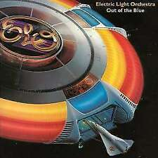 Electric Light Orchestra Blues Rock LP Records