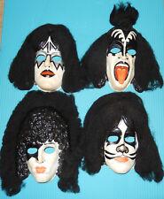 KISS Halloween Masks Aucoin 1978