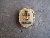 Vietnam 1975 US Navy Submarine Command badge pin fleet officer Vanguard
