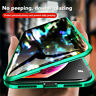 For iPhone X XS 7 8 360° 2Tempered Glass Anti-Spy Privacy Phone Case Cover ALI