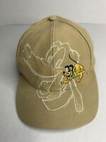 Vintage Disney Hat Golf Hat Walt Disney World Pluto Embroidered Design Snapback