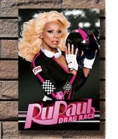Ru Paul/'s Drag motor Race Custom Poster Fabric 8x12 20x30 24x36 E-2853
