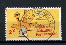 Allemagne 2003 SG # 3222 les codes postaux utilisés #A 4627