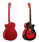 New 40 inch Beginner Preferred Musical Instruments Acoustic Folk Wood Guitar