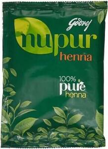 Nupur Henna Goodness of 9 Herbs for Silky & Shiny Hair Unisex 120 gm